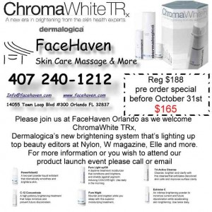 DERMALOGICA CHROMA WHITE TRx